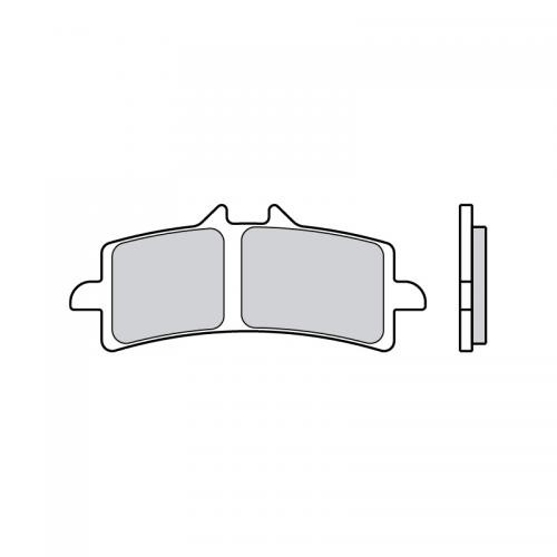 Brembo Brake Pad Sinter Racing Road