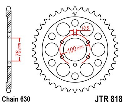 JT Rear Sprocket