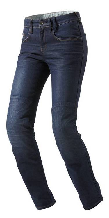 Madison Ladies Motor Jeans Blauw 27-L32