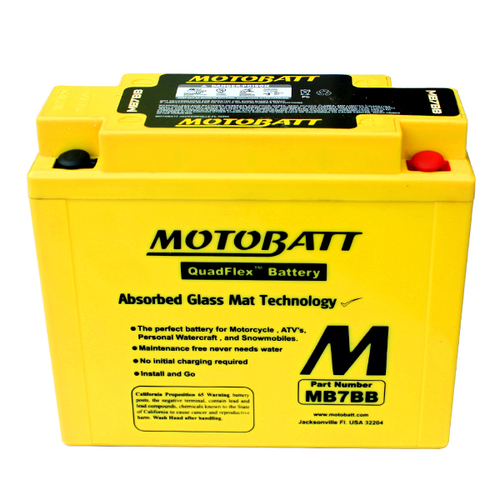 Battery Motobatt MB7BB (9Ah)