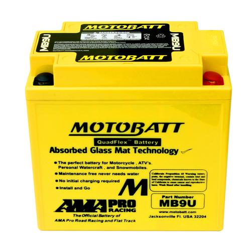 Battery Motobatt MB9U (11Ah)