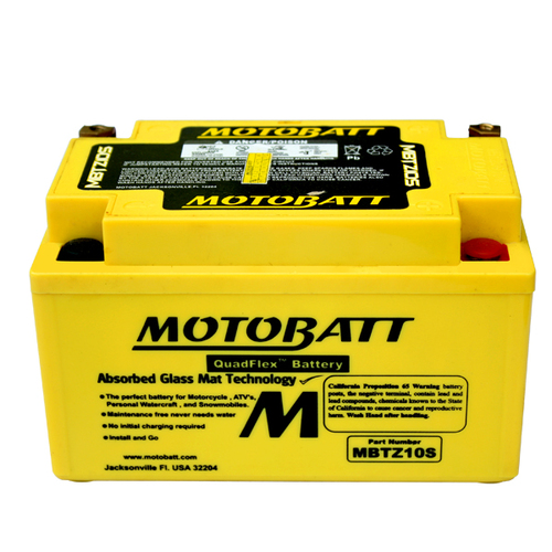 Battery Motobatt MBTZ10S (8,6Ah)