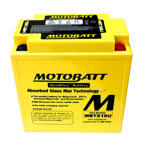 Battery Motobatt MBTX16U (19Ah)