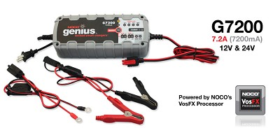 Battery Charger Genius G7200 Battery Charger