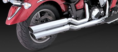 Vance & Hines Exhaust BIG SHOTS  CHR.