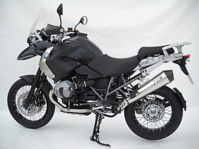 ZARD exhaust for BMW R 1200 GS, 10-11, inox satin, slip on, E-marked.